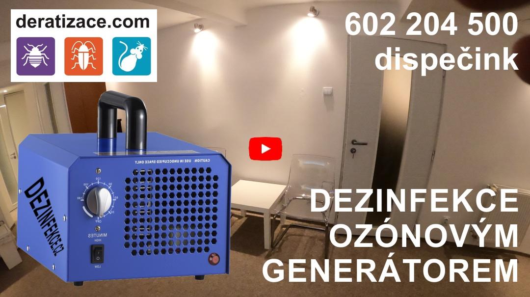 Dezinfekce Ozónem